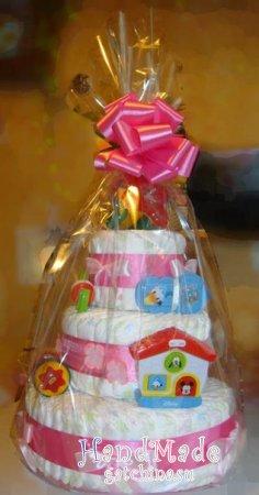 Торт из памперсов №20 оригинальные