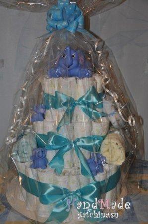 Торт из памперсов №29