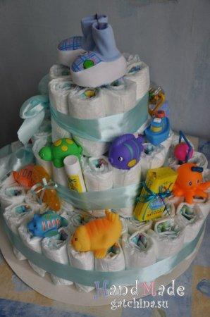 Торт из памперсов №30